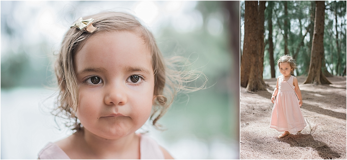 South Florida Woodland Child Portrait Photography