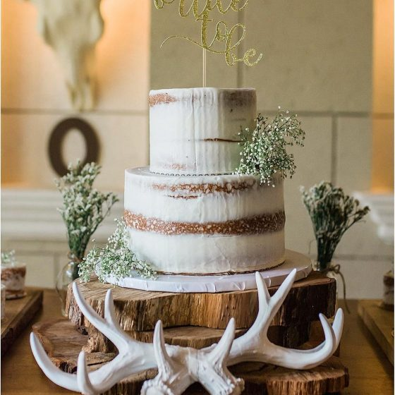 naked wedding cake in miami